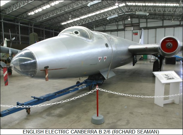 English Electric Canberra B.2/6