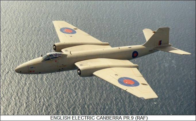 English Electric Canberra PR.9