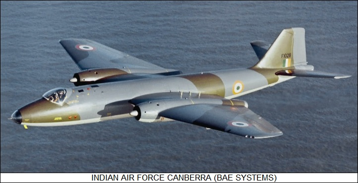 Indian Air Force Canberra PR.57