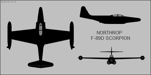 The Northrop F 89 Scorpion