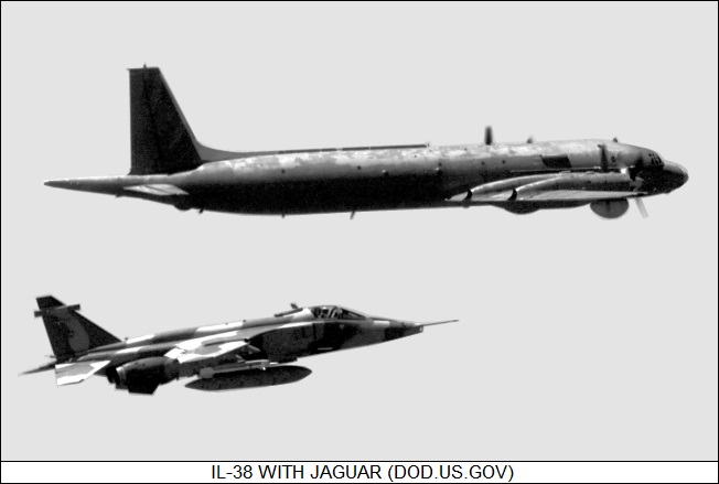 Ilyushin Il-38 with Jaguar