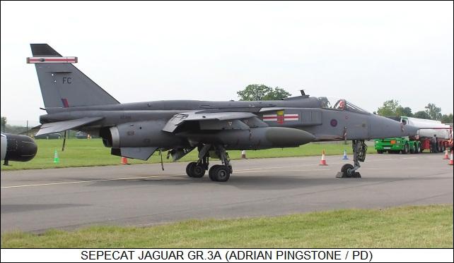 RAF SEPECAT Jaguar GR.1A