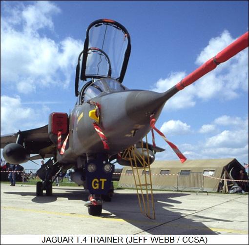 RAF SEPECAT Jaguar T.2A