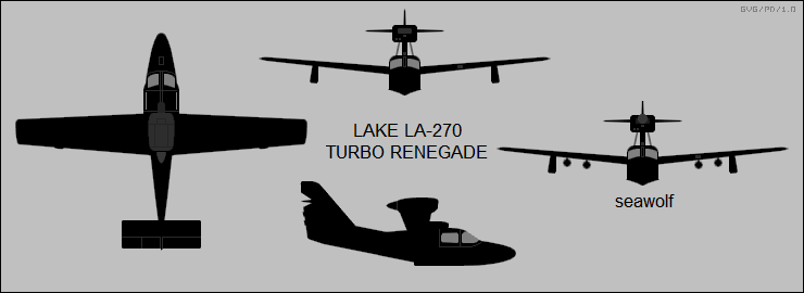 Lake LA-270 Turbo Renegade / Seawolf