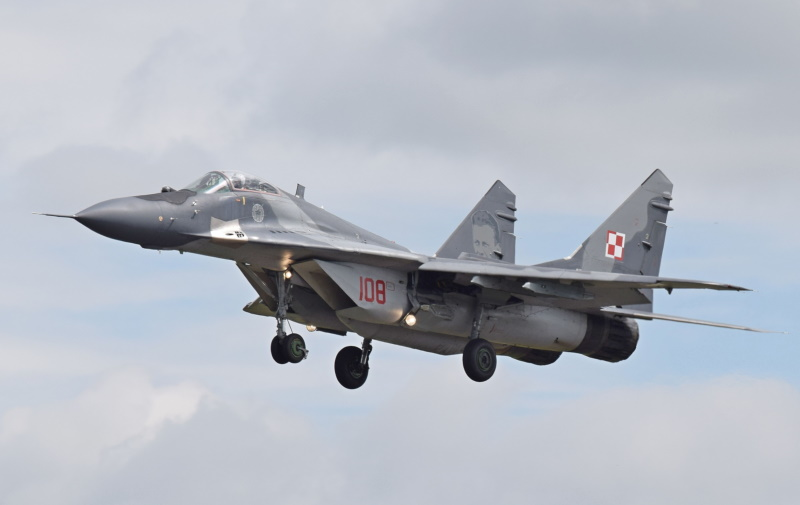 """The Mikoyan MiG-29 """"Fulcrum"""""""