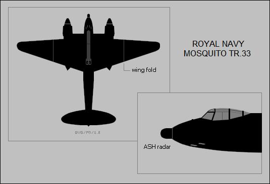 Royal Navy Mosquito TR.33