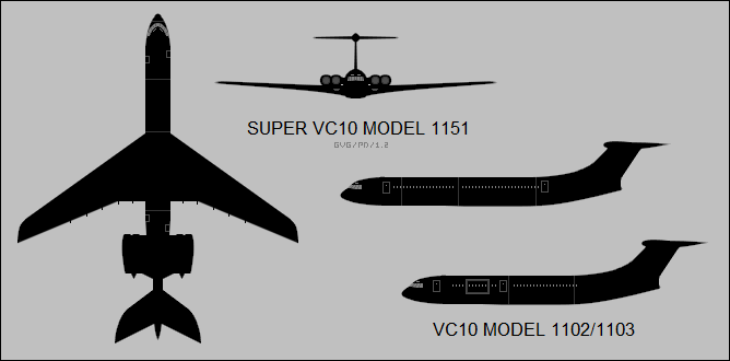 Vickers VC10 variants