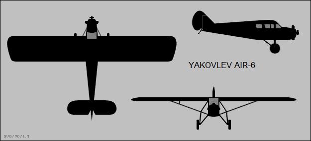 Yakovlev Light Utility Aircraft